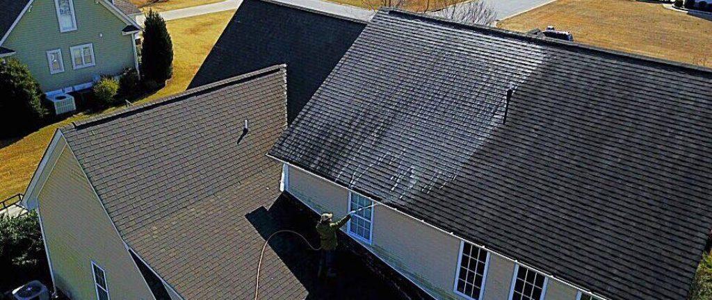 Roof Washing Wilmington